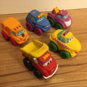 Lot of 5 Tonka Chuck & Friends Vehicles
